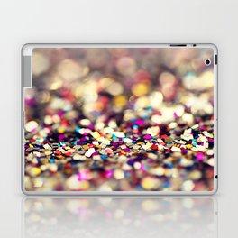 Rainbow Sprinkles - an abstract photograph Laptop & iPad Skin