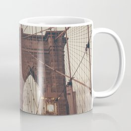 Moody Brooklyn Bridge Coffee Mug