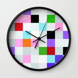 chequers modern cool Wall Clock