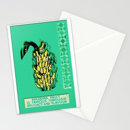 Madeira Flavor Stationery Cards