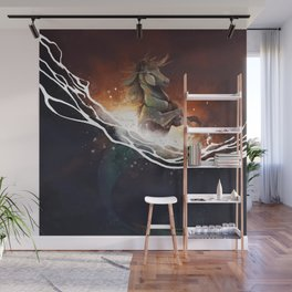 Hippocampus Wall Mural