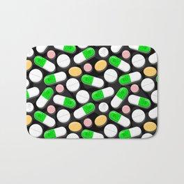 Deadly Pills Pattern Bath Mat