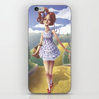 dorothy iPhone & iPod Skins featuring Dorothy by FReMO
