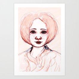 A sketch Art Print