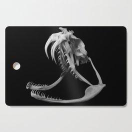Gaboon Viper Skull 1 Lp Cutting Board