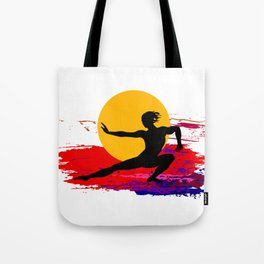Martial art, karate, judo, aikido, self defence Tote Bag