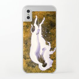 """Fall of the White Buffalo"" Clear iPhone Case"