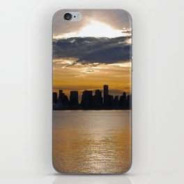 Downtown Sunset iPhone Skin