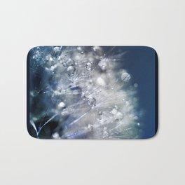 New Year's Blue Champagne Bath Mat