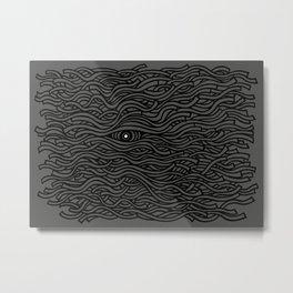 I Metal Print