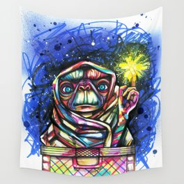 E.T going home Wall Tapestry