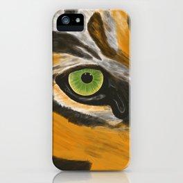 Tigers Eye iPhone Case