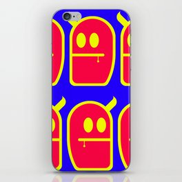 6 Mr. Grubbo And No More iPhone Skin