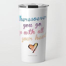 Confucius Say Travel Mug