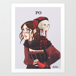 Dragonborn Po Art Print
