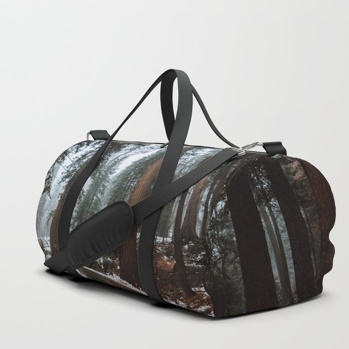 Foggy Forest Wanderlust Duffle Bag