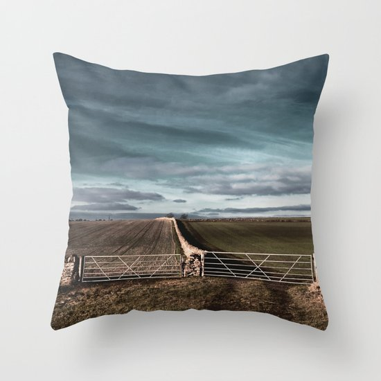 ways to make it through the wall... Throw Pillow