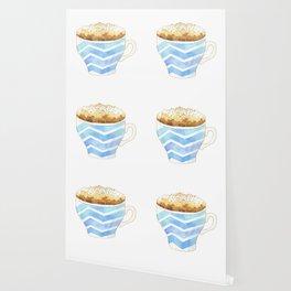 Capuccino Foam Cup Wallpaper