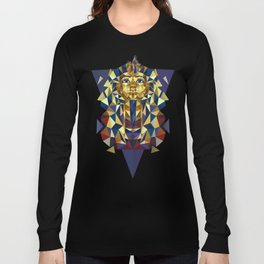 Golden Tutankhamun - Pharaoh's Mask Long Sleeve T-shirt