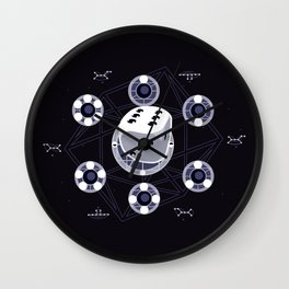 Community Remedial Chaos Theory Wall Clock