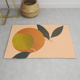 An Orange and a Lemon Rug