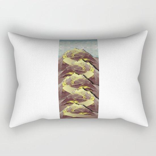 The Great, Great Night Mountain No. 4 Rectangular Pillow