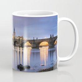 Charles Bridge at dawn Coffee Mug