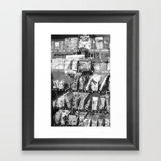 European Candy Framed Art Print