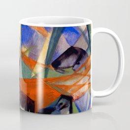 "Franz Marc ""Landscape with Black Horses"" Coffee Mug"