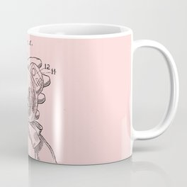 Teddy Bear Patent Pink Nursery Coffee Mug
