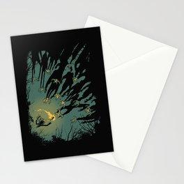 Zombie Shadows Stationery Cards