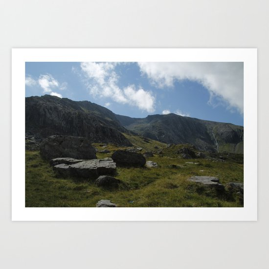 Wales II Art Print
