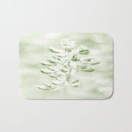 Lupine in Vintage color #decor #society6 Bath Mat