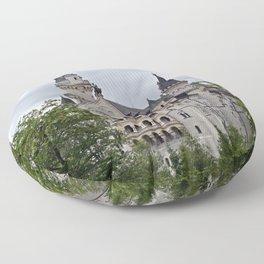 Neuschwanstein Castle Floor Pillow