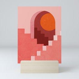 Abstraction_SUN_Architecture_Minimalism_001 Mini Art Print