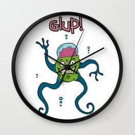 AQUATIC MONSTER Wall Clock