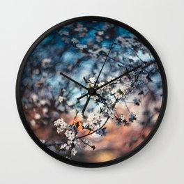 Blossom 2019 Wall Clock