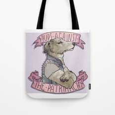 Pups against the Patriarchy  Tote Bag