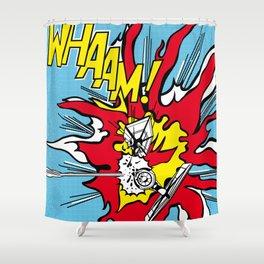Luke Lichtenstein - Whaam! Shower Curtain