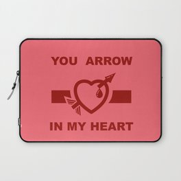 You arrow in my heart Laptop Sleeve