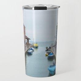 Colors in the Sea Travel Mug