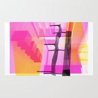 bauhaus Area & Throw Rugs featuring Bauhaus by mJdesign