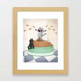 Itty Kitties Framed Art Print