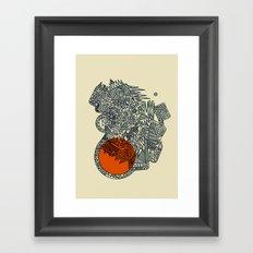 Glysko Sunset Framed Art Print