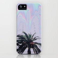 melting palm trees iPhone (5, 5s) Slim Case