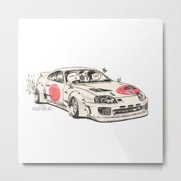 Crazy Car Art 0178 Metal Print
