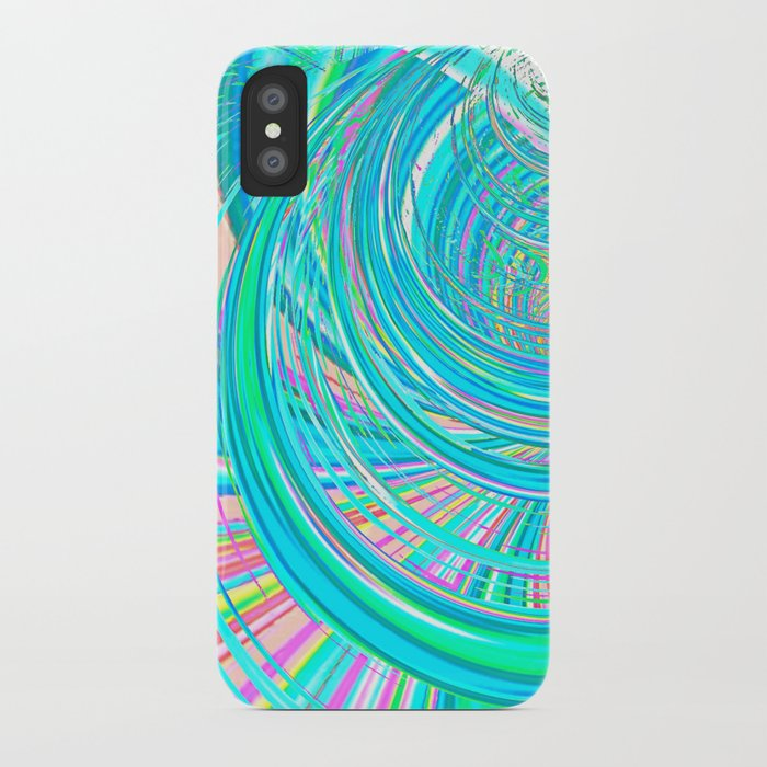 Re-Created  Hurricane 7 by Robert S. Lee iPhone Case