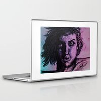 fierce Laptop & iPad Skins featuring Fierce Pierce by MelPetrinack