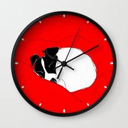 snoozer Wall Clock