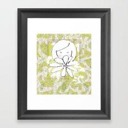 shy Framed Art Print